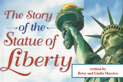 on liberty books the story of the statue of liberty just books read aloud