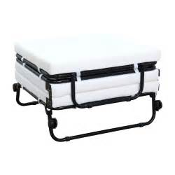 Ottoman Folding Bed White Leather Ottoman Folding Bed Convertible Sofa With Folding Frame And Wheels Ideas