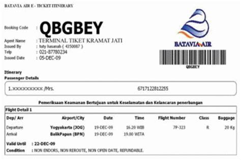 Contoh Dokumen Resmi Perjalanan Bisnis by Info Agen Qtiket