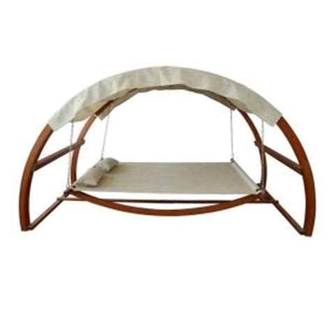 patio swing with canopy home depot leisure season patio swing bed with canopy sbwc402 the