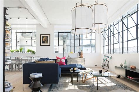 eclectic  studio apartment design