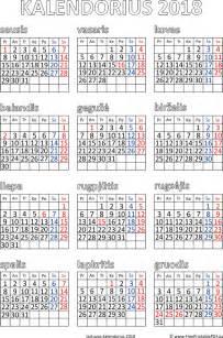 2018m Kalendorius Kalendorius 2018 Iems Metams Pdf Nemokamas Spausdinamas Pdf