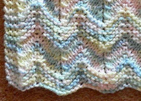 free knitted ripple afghan pattern miracles happen miracleshappen us