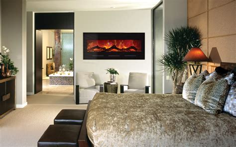 electric fireplace for bedroom bi 50 flushmt blkgls by amantii electric fireplaces