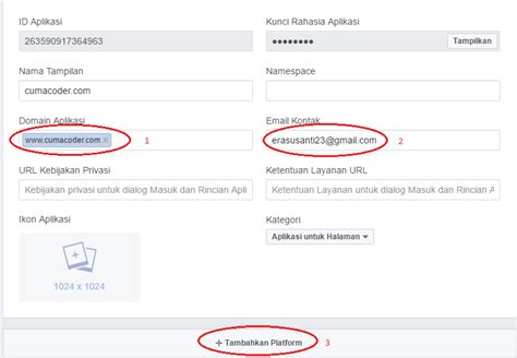membuat login with facebook tutorial membuat login facebook dengan php cuma coder