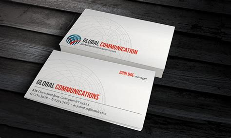 global business card template 25 free psd business card templates that you should