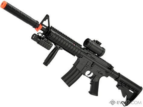 Ufc G36k Carring Handle With Ris Rail Reddot Black Ufc Sc 23bk de m83a2 size m4 ris carbine airsoft low power