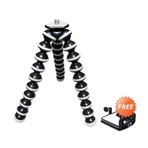 Stok Terbatas Tripot Holder U jual universal gorilla pod tripod hitam list