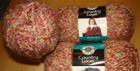 loops and threads knit 3 skeins loops threads country loom yarn for crochet and