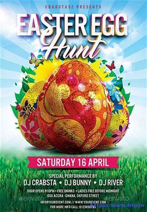 Easter Egg Flyer Template