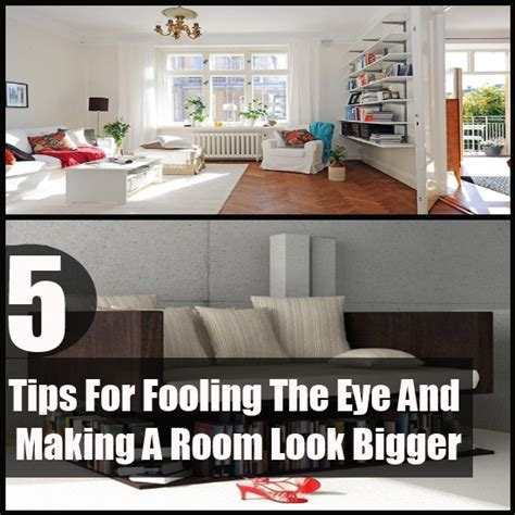 5 tips for fooling the eye and a room look bigger