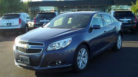 2013 chevrolet malibu 2lt 2013 chevrolet malibu 2lt blue burns chevrolet rock hill