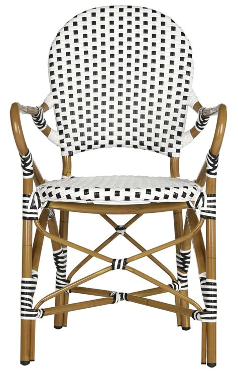 Safavieh Bistro Chairs Pe Wicker Armchair Dining Chairs Safavieh