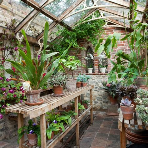 backyard green house classic garden greenhouse garden design housetohome co uk