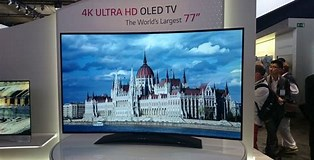 Image result for biggest oled tv. Size: 314 x 160. Source: mashable.com