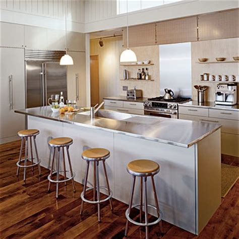 Stainless Steel Countertop Prices by The Average Prices Of Kitchen Countertops Modern Kitchens