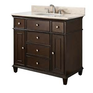 Sink Vanity Avanity 36 Traditional Single Sink Bathroom