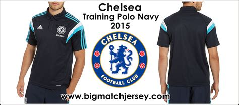 Chelsea Bordir Top Dod Shop 1 polo shirt chelsea navy 2014 2015 big match jersey