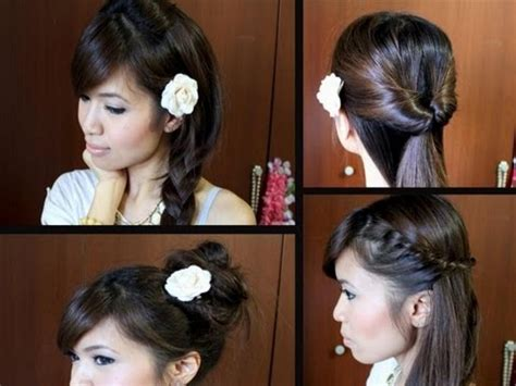 easy hairstyles for medium hair for school dailymotion easy hairstyle for medium hair for school how to do