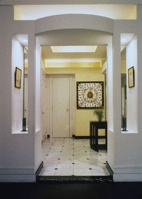 entryway foyer ideas console table simple design