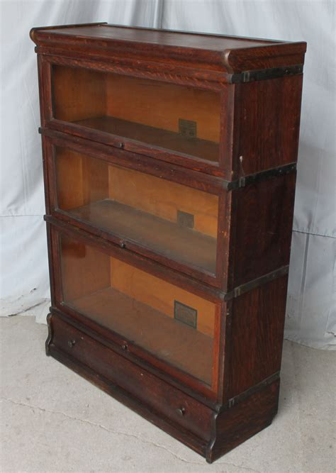 Antique Stackable Bookcase bargain s antiques 187 archive antique oak stacking bookcase globe wernicke bargain