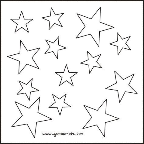 contoh gambar tato bintang mewarnai gambar komposisi bintang contoh gambar mewarnai