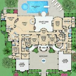 Mansion Floor Plan House Floor Plans Luxury Home Plans Mansions House Plans Mansion