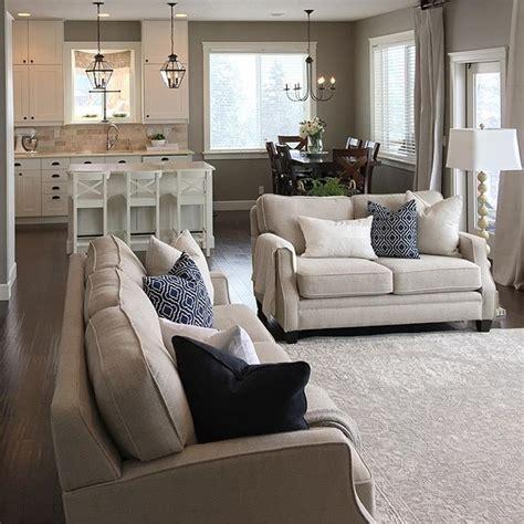 gray neutral living room haus pinterest neutral decor with pops of blue gray walls dark flooring