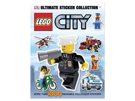 ultimate sticker collection lego city ultimate sticker collections books lego 174 city ultimate sticker collection 5000668 city