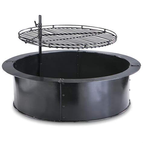 guide gear 174 grill pit ring 139354 cookware - Pit Ring With Grill
