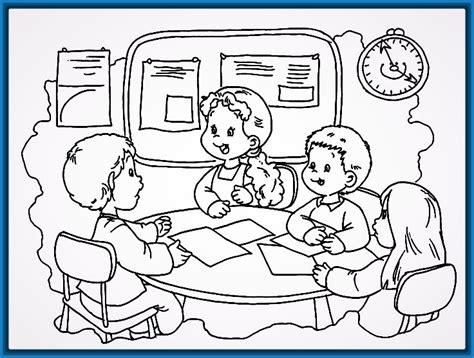 imagenes de niños jugando y estudiando lind 237 simos dibujos para colorear ni 241 os y ni 241 as