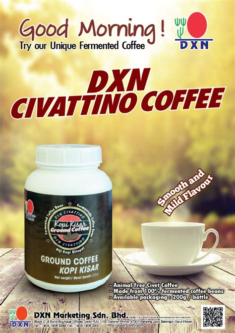 welcome to the dxn fans blog dxn civattino coffee