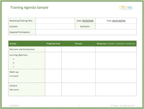 agenda template word designs meeting minutes survey words systematic