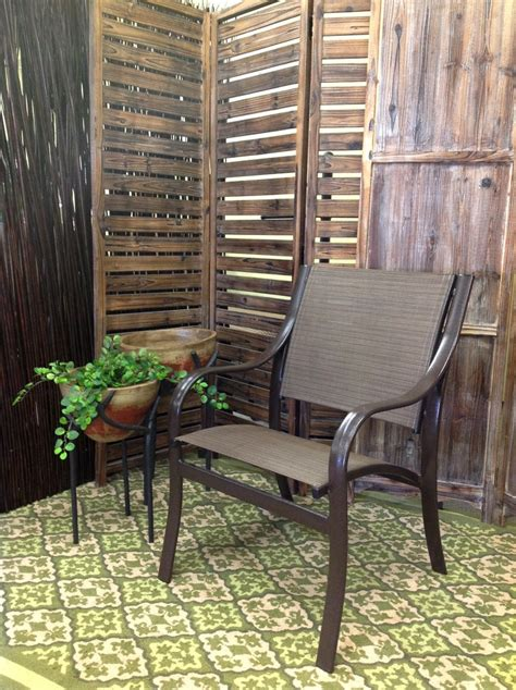 Jacobs Upholstery Spokane Cordova Outdoor Patio Sling Dining Arm Chair Clearance