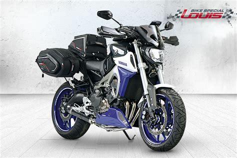 Motorrad Felgenaufkleber Louis by Yamaha Mt 09 Transformation Sp 233 Ciale Louis Motos Et Loisirs