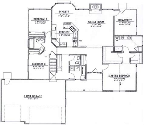 how to get house plans how to get good ranch style house floor plans gt gt 24 nice ranch style floor plans