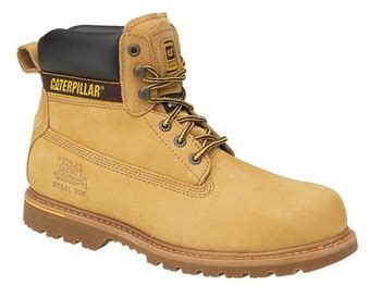 Sepatu Caterpillar Holton Safety 8 cat holton honey 6 quot pad top safety boots wasp supplies ltd