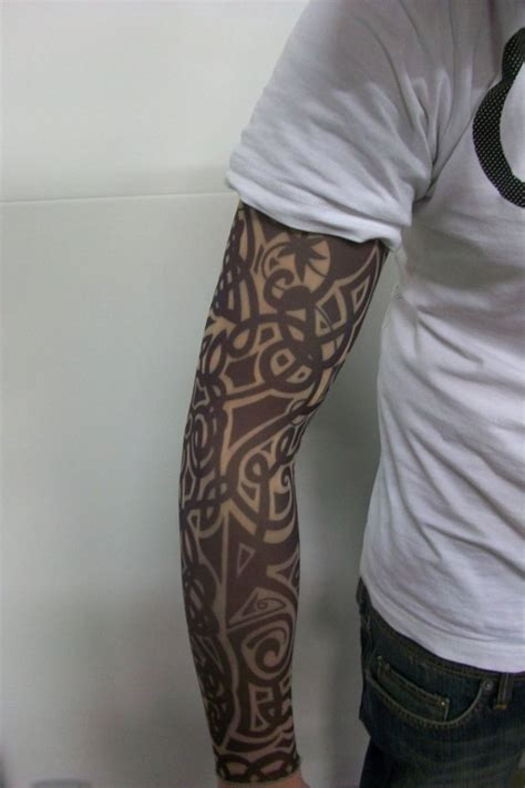 tribal temporary tattoo 1000 ideas about sleeves on