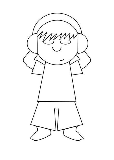 imagenes para dibujar musica dibujo para colorear escuchar m 250 sica img 29721