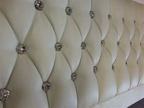 leather headboard with crystals details about pink princess crystal headboard for bed