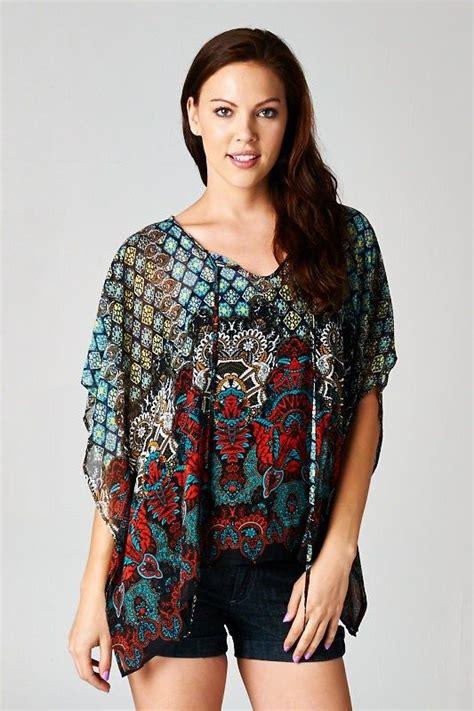 tunics fashion jewelry and chiffon on