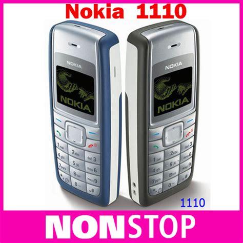 Nokia 1110i Gsm Original Garansi 1 Bulan 1110 original nokia 1110 1110i unlocked gsm mobile phone refurbished cell phone free shipping in