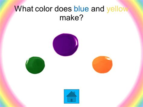blue and yellow make what color color theory basics ppt