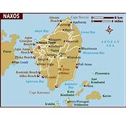 Map Of Naxos