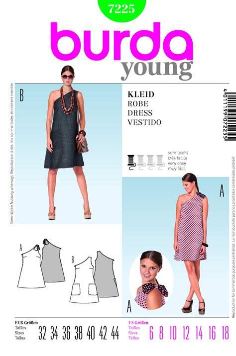 pattern sewing review burda 7225 dress