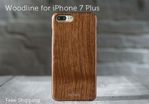 One Strong World L0712 Iphone 7 Plus Casing Premium Hardcase woodline slim strong wooden iphone 7 plus