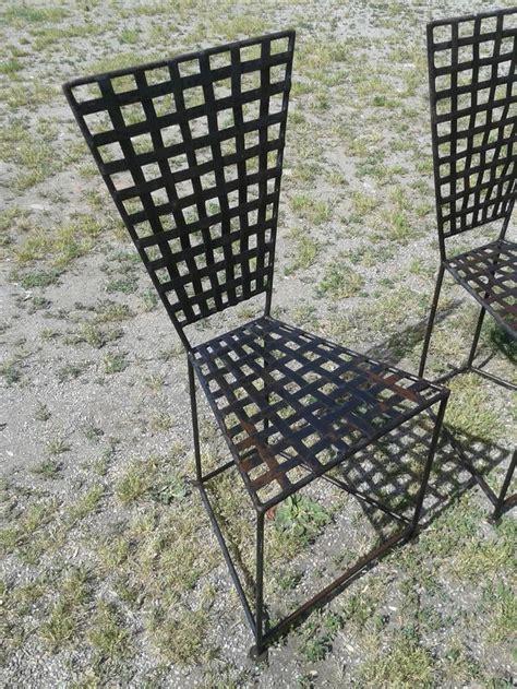 sedie in ferro battuto da giardino 17 migliori idee su sedie in ferro battuto su