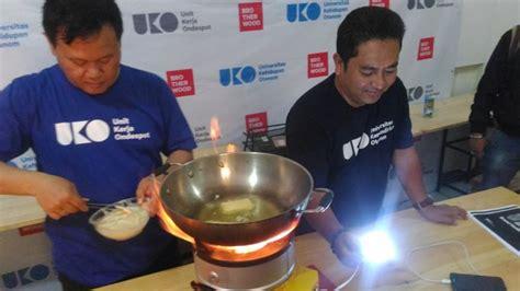 Kompor Listrik Bandung mantan preman ciptakan kompor penghasil energi listrik