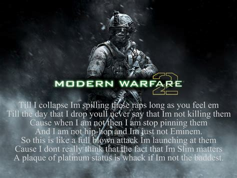 eminem till i collapse lyrics mw2 till i collapse lyrics by alpolo007 on deviantart