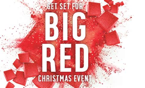 next argos big red christmas sale 2018